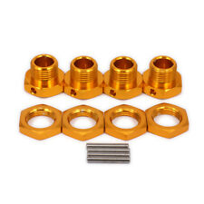4pcs Alum M17 17mm Wheel Hex Hubs Adapter Nut For RC 1/8 HPI HSP Traxxas Himoto
