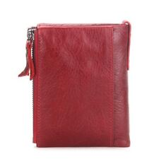 New Design PU Leather Small Size Zipper Credit Card Holder Wallet For Women