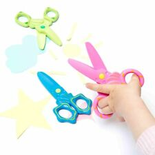 Safety Scissors in Blue, Green, Pink, Set of 3