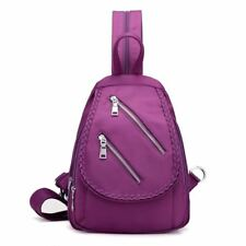 Fashion Casual Style Solid Color Polyester Material Backpack for Girl KL161