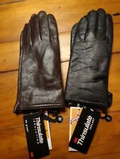 NWT Women's Auclair Thinsulate Leather Gloves