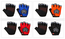 Men Cycling Gloves Bike Half Fingers Bicycle Gel Padded Fingerless Sports Light