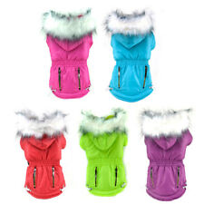 Puppy Jacket Winter Small Dog Clothes Soft Fur Pet Dog Coat For Chihuahua Yorkie
