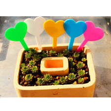 Pack 50pcs Plastic Stick In Plant Pot Labels Tags Garden Seed Tray 5 Colors