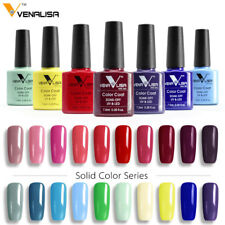 LED UV Nail Gel Polish Manicure Soak off Gel Varnish Lacquer Nail Art 60 Colors
