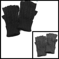 Mens Knit Cable Hand Gloves Outdoor Winter Warm Comfortable Cold Weather Kit new
