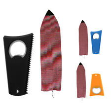 6' Stretch Surfboard Shortboard Sock Cover Protective Storage Bag & Wax Comb