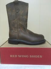Mens Red Wing Steel Toe work boots- brand new DISCONTINUED STYLE