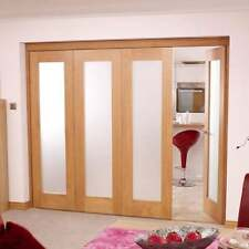 NuVU Roomfold Internal Oak Folding Sliding Modular Door Kit