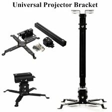 Adjustable Tilt LED DLP LCD Ceiling Extendable Projector Mount Bracket KG