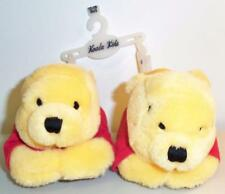 Disney Baby WINNIE THE POOH Soft Plush Slippers/House Shoes Size 12-18months NEW