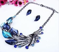 Vintage Fashion Zinc Alloy Metal Long Chain With Necklace For Women JEZ1108