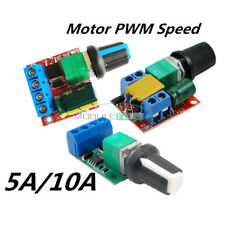 4.5V~35V 5A/10A Mini PWM DC Motor Speed Regulation Controller Switch LED Dimmer