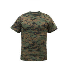 Woodland DIGITAL Camo T-Shirt MARPAT Camouflage US Marine Corps USMC Paintball