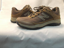 NEW BALANCE 669  WOMENS WALKING SNEAKERS BROWN SUEDE MESH CUSHIONED