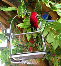 Large/Medium/Small Stainless Steel Parrot Stand Holder / Bird Cage Shelf Rack