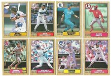 1987 O-Pee-Chee Complete Team Set 6 Available OPC Rookie Card RC Canada Set 87