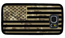 USA FLAG MILITARY CAMO PHONE CASE FOR SAMSUNG NOTE & GALAXY S3 S4 S5 S6 S7 S8 S9