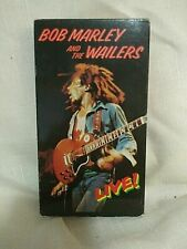 Bob Marley and the Wailers: Live! At the Rainbow [VHS], Good VHS, Bob Marley, Ll