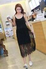 Women Summer Spring Wear White Black Color Sleeveless Strapless Lace Dress