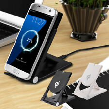 For Galaxy Note8 S8 iPhone 8 Plus X Qi Wireless Fast Charger Charging Stand Dock
