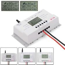 LCD 10/20/30/40A 12V/24V MPPT Solar Panel Regulator Charge Controller 3 Timer EH