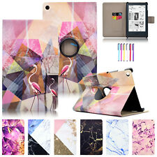 For Amazon Kindle HDX7 Fire 7 Painted Magnet Case Leather Card Slots Stand Cover