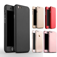 For iPhone X Case Shockproof Skin Built in Screen Protector Full Body PC Cover