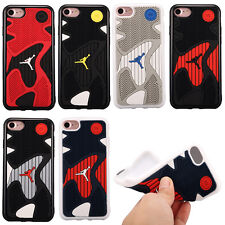 Air Jordan Sneaker Sole Case Soft Back Rubber Silicone For iPhone 8 7 7 Plus