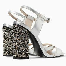 ZARA Leather Sandals With Diamante Woman BNWT Authentic RRP £79.99 1380/301