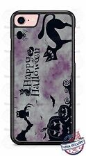 Halloween Black Cat pumpkin phone case for iPhone Samsung LG HTC Moto gift