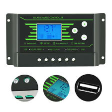 PWM 12V 24V Solar Panel Regulator Battery Charge Controller With Dual USB