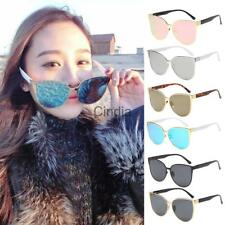 Women Cat Eye UV400 Sunglasses Vintage Shades Oversized Designer Retro Glasses