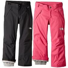 Girls' THE NORTH FACE Freedom Insulated Snow Pants w/ Adjustable Waist Reg Fit