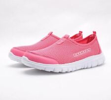 Women Light Pink Color Casual Fashion Summer Slip-on Plus Size Shoes