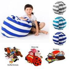 Portable Kids Play Toy Storage Bag Organizer For Stuffed Toys Plush Animal Toys