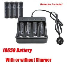 18650 3.7V Li-ion Rechargeable Battery LED Flashlight / Battery Charger