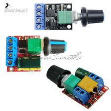 Mini 5A/10A Motor PWM Speed Controller 3V/4.5V-35V Control Switch LED Dimmer New