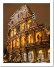 Colosseum In Rome, Italy Art Print Home Decor Wall Art Poster - C