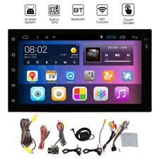 Android 4.4 Quad Core Car GPS DVD MP5 Player Bluetooth 2 DIN 7'' 3G WiFi lot BH!