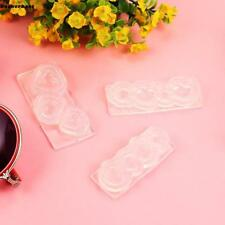 Silicone Resin Mold Shell/ Heart Jewelry Necklace Pendant DIY Making B77K