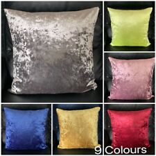 Top Quality Luxury Soft Ice Crushed Velvet Cushion Cover Available in 9 Colours