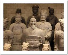 The Famous Terracotta Warriors Of Xian, China Art Print Home Decor Wall Art
