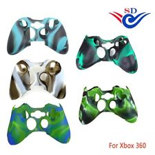 Silicone Skin Protector Case For Xbox360 Controller Camouflage Replacement Cover
