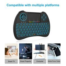 Mini  Wireless Keyboard Air Mouse 2.4GHz Wireless Remote Full Touchpad Keyboard