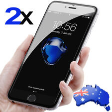 Pack of 2 - 2X Tempered Glass Screen Protector For iPhone X 8 7 6 Plus 7 6S SE