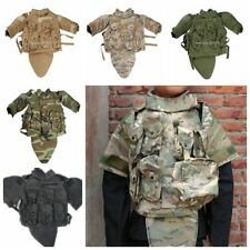 US MILITARY CS TACTICAL VEST AIRSOFT PAINTBALL PLATE CARRIER OTV COMBAT GAME