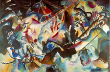 Composition VI (Classic Russian Abstract Art Print)