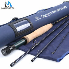 Nymph Fly Rod 3WT 4WT 10ft 4Sec Graphite IM10 Fast Action Fishing Rod Tube