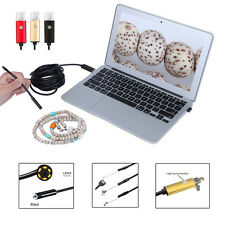 6 LED* Waterproof Inspection Endoscope Snake CMOS Tube Camera For Android PC